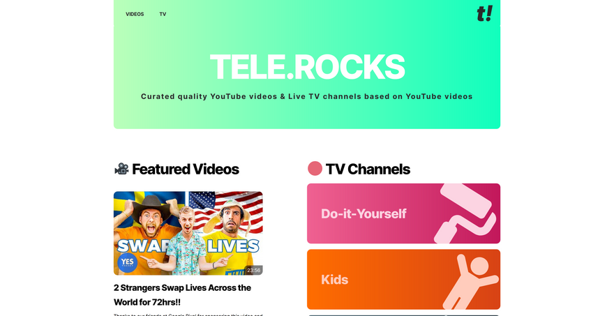 TELE.ROCKS screenshot